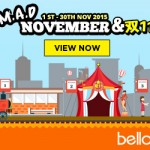 Bello2's M.A.D November Promotion: FREE Coupons and Mystery Gift Giveaway!