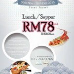 Jogoya Friday Promo: Enjoy Buffet from only RM78!