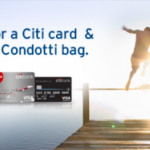 Citibank Credit Card Promotion & Giveaway