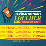 LAZADA Malaysia Discount Code worth RM100 Giveaway!