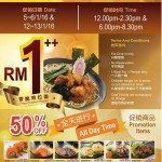 Kinsahi Fried Chicken Ramen at only RM1 Promotion!