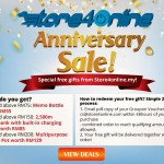 GROUPON Anniversary Sale: Receive FREE Gift Giveaway!
