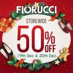FIORUCCI Storewide 50% Discount Promotion!