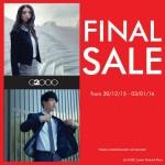 G2000 5-Days Final Sale 2015/2016