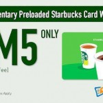 Starbucks Malaysia Preloaded Card worth RM20 for only RM5!
