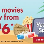 TGV Cinemas Promotion: Enjoy Movie from only RM6!
