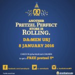 Auntie Anne's Malaysia FREE Pretzels Giveaway
