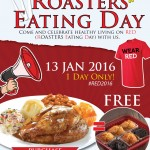 Kenny Rogers Roasters Healthy Eating Day 2016: FREE 1/2 Dozen Home Made Muffins Giveaway