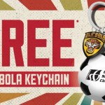 Golden Screen Cinemas FREE Ola Bola Keychain Giveaway