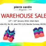 Pierre Cardin Lingerie Warehosue Sale