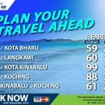 Rayani Air Promotion 2016: Fly to Kota Bahru, Langkawi, Kota Kinabalu, Kuching from only RM59!