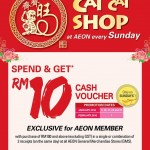 AEON FREE RM10 Gift Voucher Giveaway at ALL AEON Stores!