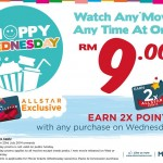 MBO Cinemas ANY Movie ANY Time at only RM9!
