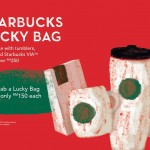 Starbucks Lucky Bag (worth RM250) at only RM150!