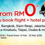 AirAsiaGo FREE Flights to Singapore, Kota Kinabalu, Taipei, Osaka!