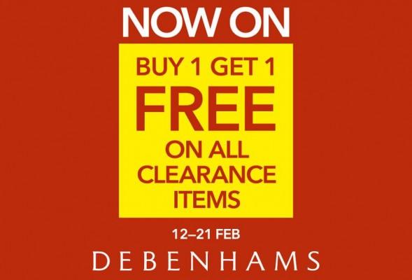 Debenhams freebies