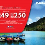 Rayani Air Flight to Langkawi from only RM49!