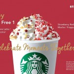 Starbucks Malaysia Buy 1 FREE 1 Promotion