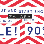 ZALORA everything is on sale, discount up to 90%!
