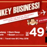 Air Asia: Fly to Johor Bahru, Padang, Siem Reap, Chiang Mai, Perth, Busan from only RM49!