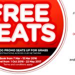 Air Asia FREE Seats to Penang, Macao, Kochi, Yogyakarta, Pattaya, Beijing, Auckland, Busan!
