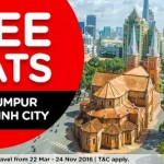 Air Asia FREE Seats to Ho Chi Minh City