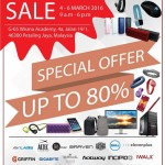IT Accessories Warehouse Sales: Enjoy Discount Up To 80%!