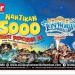 Lost World of Tambun Entrance Ticket Giveaway