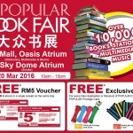 Popular Book Fair FREE Voucher & Exclusive Gift Giveaway