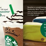 Starbucks Frappuccino for only RM10 Promotion + FREE Mini Travel Case Giveaway