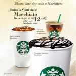 Starbucks Macchiato Beverage for only RM10 Promotion!