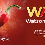 Watsons Online Voucher Giveaway