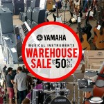 YAMAHA Musical Instruments Warehouse Sale