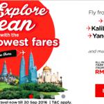 Fly to Kota Bharu, Kalibo, Siem Reap, Yangon, Da Nang and Pattaya from RM39!