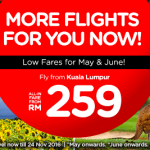 Air Asia Flight to Osaka, Sapporo, Melbourne, Perth from only RM259