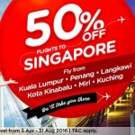Air Asia Flights to Singapore Promotion
