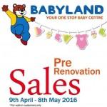 Babyland Sale 2016