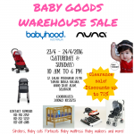 Baby Goods Warehouse Clearance Sale: Enjoy Discount up to 70%!