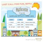 Bifesta Sample Giveaway