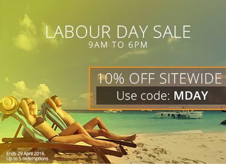 Labour Day Sale