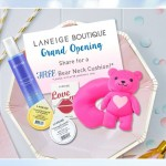 Laneige Bear Neck Cushion Giveaway