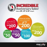 Mac City Anniversary Sale: Cash Voucher Worth RM200 Giveaway