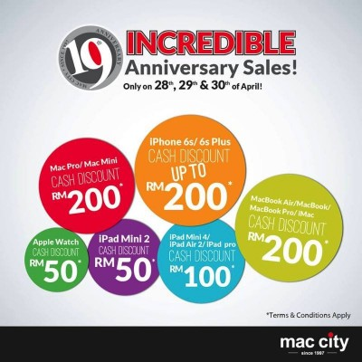 Mac City Sale