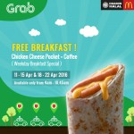 McDonald's Chicken Cheese Pocket & Premium Roast Coffee/Tea Promotion