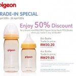 Pigeon Wide-Neck PPSU Bottle at 50% Discount!