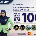 Rayani Kota Kinabalu Flight Promotion: Fly from only RM100!