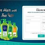 Follow Me Green Tea Shampoo Sample Giveaway