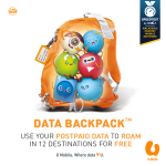 U Mobile Roam in 12 Destinations for FREE