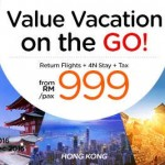 AirAsiaGo: Flights to China, Hong Kong, Japan, South Korea, or Taiwan + 4N Stay + Tax for only RM999!
