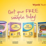 Wyeth Nutrition FREE S-26 Samples Giveaway
